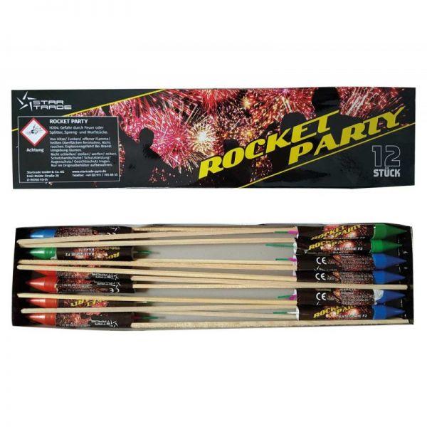 Rocket Party (12er Pack)