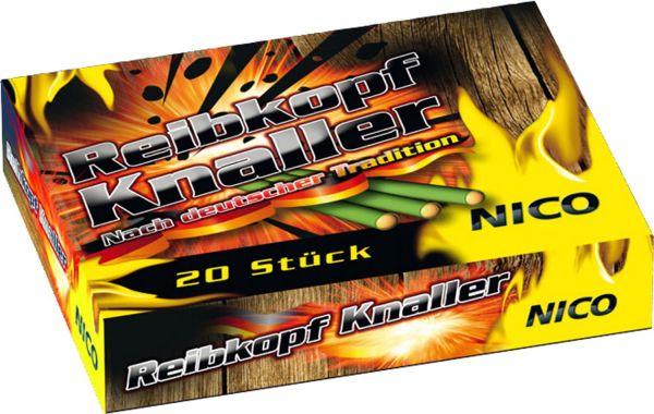 Reibkopf Knaller (20er Pack)